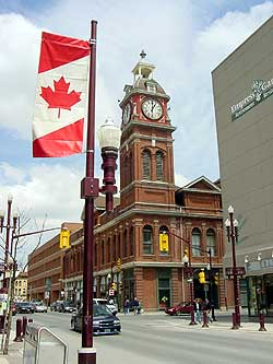 Peterborough Town Clock